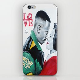 Black Love - Martin & Gina iPhone Skin