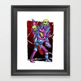 METAL MUTANT 4 Framed Art Print