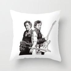 Bruce & Bruce Throw Pillow