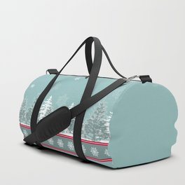 Winter scene Duffle Bag
