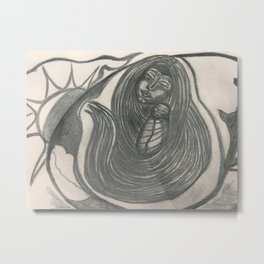 Mother Hearth And The Seed Metal Print