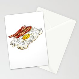 Eggs n Bacon Stationery Cards