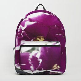 colorful violet Backpack