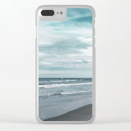 Travel Series - Corolla, NC Clear iPhone Case