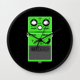 T-Rex Distortion Pedal Wall Clock
