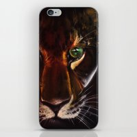 jaguar iPhone & iPod Skins featuring Jaguar by mejony
