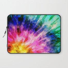 Textured Tie Dye Laptop Sleeve