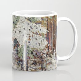Tom Thomson ‑ Snow in the Woods - Canada, Canadian Oil Painting - Group of Seven Coffee Mug