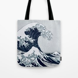 The Great Wave - By Hokusai Tote Bag