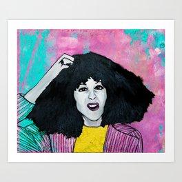 Gilda Radner Art Print