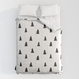 black and white Scandinavian Nursery Prints patterns Comforters