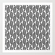 pattern series 075 entwine Art Print