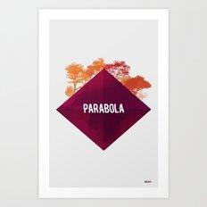 Parabola Art Print