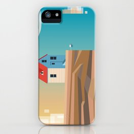 Off the edge iPhone Case
