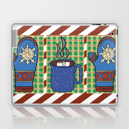 Cozy Christmas! Laptop & iPad Skin