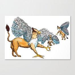 Griffins Family  Canvas Print