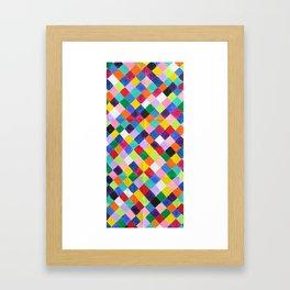 You.Me.Us Dos Background Framed Art Print