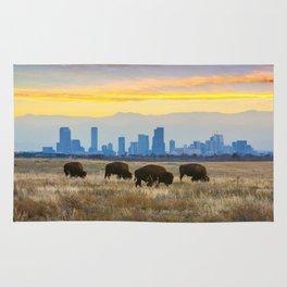City Buffalo Rug