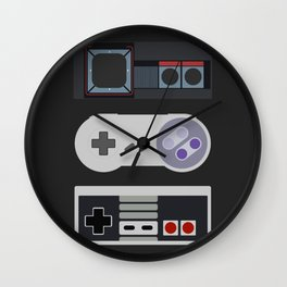 Power Trio Wall Clock