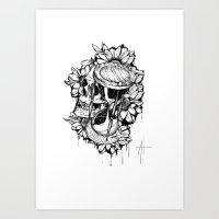 Hourglass99 Art Print