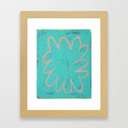 The Thoughts of Clouds Framed Art Print