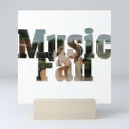 Music Fan Mini Art Print