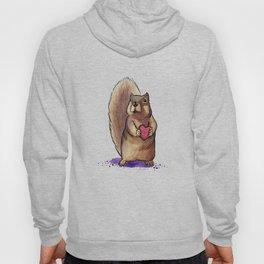 Squirrel Loves You Hoody