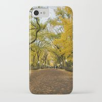 literary iPhone & iPod Cases featuring Central Park New York City by Vivienne Gucwa