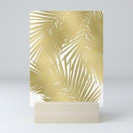 Palms Gold Mini Art Print