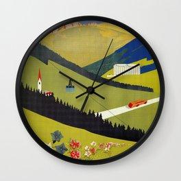 Alto Adige South Tyrol Wall Clock