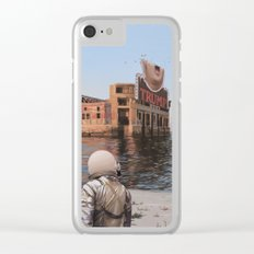 Empty Palace (Trump) Clear iPhone Case