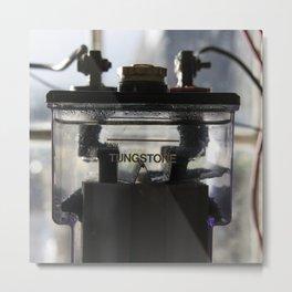 The Signal Battery Metal Print