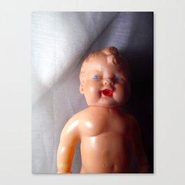 Suspicious Baby Canvas Print