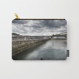 Stormy Skies Over Whitby Carry-All Pouch