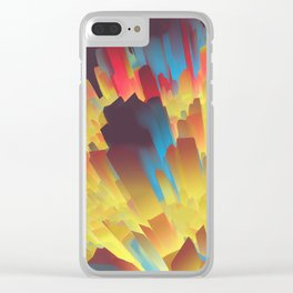 Glowing City Clear iPhone Case