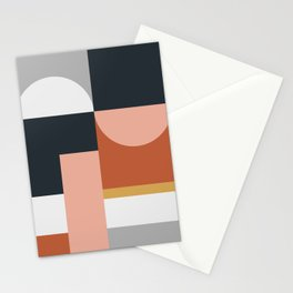 Abstract Geometric 09 Stationery Cards