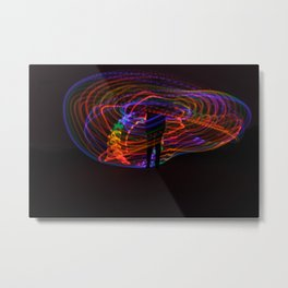 Light Sculpture 6 Metal Print