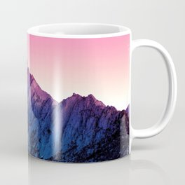 Magenta Tinted Hillside Coffee Mug
