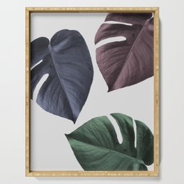 Monstera 02 Serving Tray