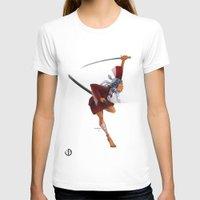 samurai T-shirts featuring Samurai by youcoucou