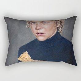 Charlie Bucket - Golden Ticket Willy Wonka Painting Rectangular Pillow