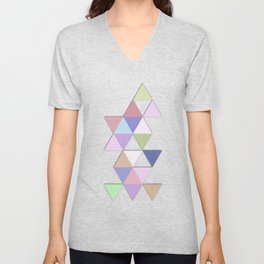 Abstract #809 Passages Unisex V-Neck