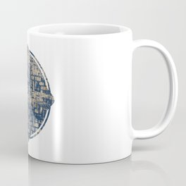 Blue Squircle Coffee Mug