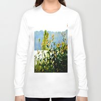 clear Long Sleeve T-shirts featuring Naturally Clear by Stephenie