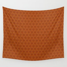 Oranges Pattern Wall Tapestry