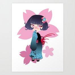 Hina Fleur Art Print