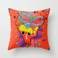 Thoughtfulness Throw Pillow
