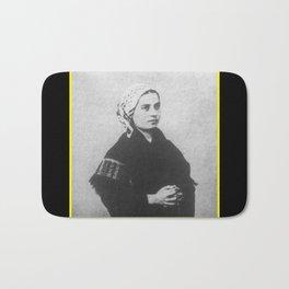 Billard Perrin - Portrait of Bernadette Soubirous Bath Mat