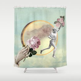 The Rapture of the Hen Shower Curtain
