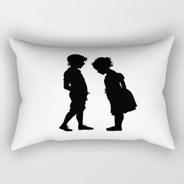 The children play to doctors Rectangular Pillow